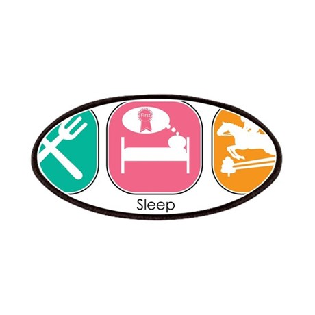 Eat Sleep Jump Patches