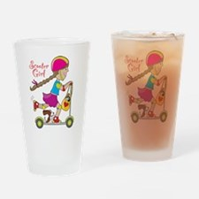 Scooter Girl Pint Glass