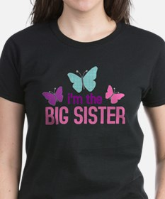 i'm the big sister butterfly Tee