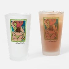 Hot and Heavy Pint Glass