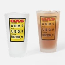 Gas Prices Pint Glass