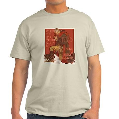 Washington- Liberty and the S Light T-Shirt