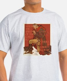 Washington- Liberty and the S T-Shirt
