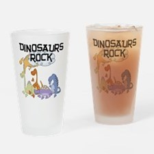 Dinosaurs Rock Pint Glass