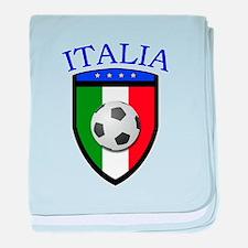 Italia Soccer (2) baby blanket