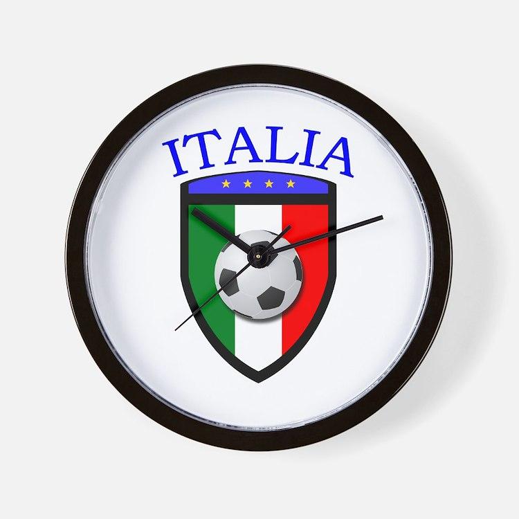 Italia Soccer (2) Wall Clock