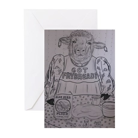 Got Frybread? Greeting Cards (Pk of 10)