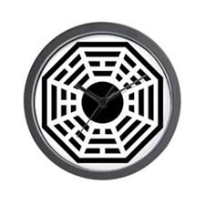 Dharma Octagon Symbol Wall Clock