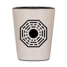 Dharma Octagon Symbol Shot Glass
