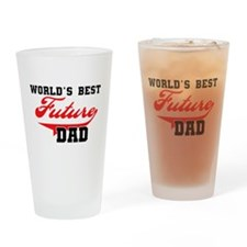 World's Best Future Dad Pint Glass