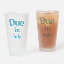 Blue Due in July Pint Glass