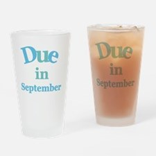 Blue Due in September Pint Glass