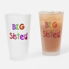 Bright Colors Big Sister Pint Glass