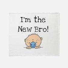 I'm the New Bro Throw Blanket