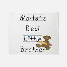 Bear Little Brother Throw Blanket