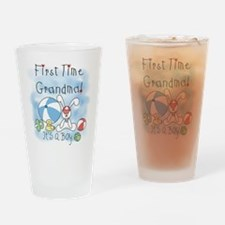 Grandma Baby Boy Pint Glass