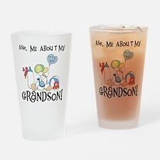 Stork New Grandson Pint Glass