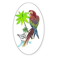 Parrot Tropical Cruise Decal