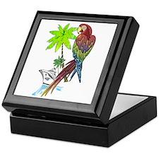 Parrot Tropical Cruise Keepsake Box