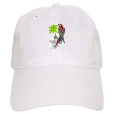 Parrot Tropical Cruise Baseball Cap