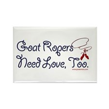 Goat Ropers Rectangle Magnet