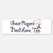 Goat Ropers Bumper Bumper Sticker