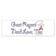 Goat Ropers Bumper Sticker