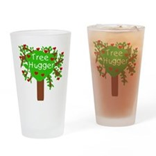 Tree Hugger Pint Glass