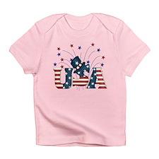 USA Fireworks Infant T-Shirt