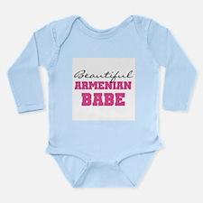 Armenian Babe Long Sleeve Infant Bodysuit