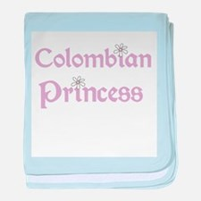 Colombian Princess baby blanket