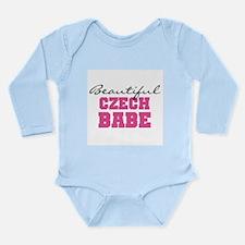 Czech Babe Long Sleeve Infant Bodysuit