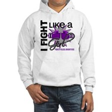 Fight Like A Girl Fibromyalgia Hoodie