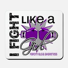 Fight Like A Girl Fibromyalgia Mousepad