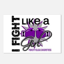 Fight Like A Girl Fibromyalgia Postcards (Package
