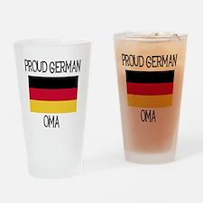 Proud German Oma Pint Glass