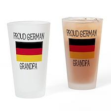 Proud German Grandpa Pint Glass