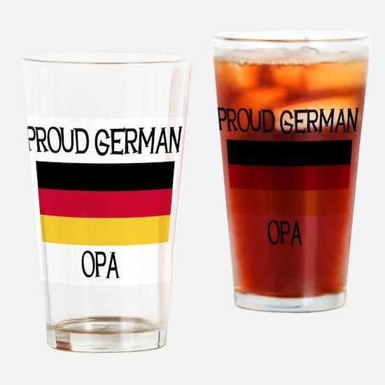 Proud German Opa Pint Glass