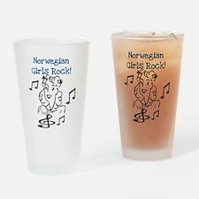 Norwegian Girls Rock Pint Glass