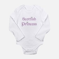 Scottish Princess Long Sleeve Infant Bodysuit