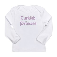 Turkish Princess Long Sleeve Infant T-Shirt