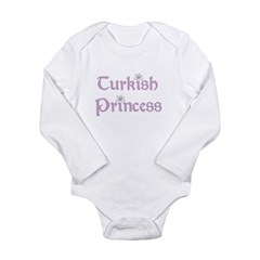 Turkish Princess Long Sleeve Infant Bodysuit
