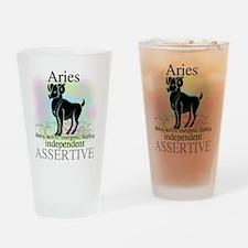 Aries the Ram Pint Glass