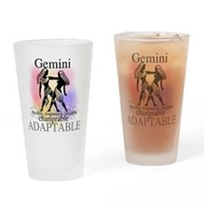 Gemini the Twins Pint Glass