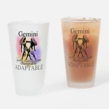 Gemini the Twins Pint Glass
