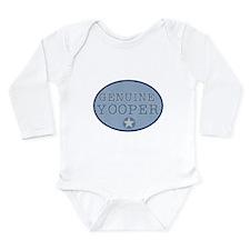 Genuine Yooper Long Sleeve Infant Bodysuit