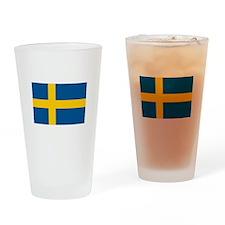 Swedish Pride Pint Glass