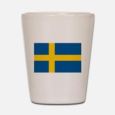 Swedish Pride Shot Glass