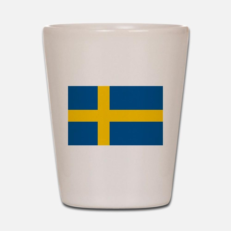 Swedish Pride Shot Glass