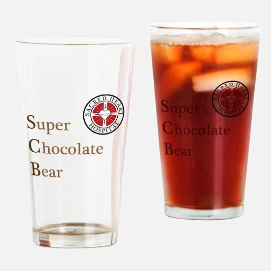 SCB Super Chocolate Bear Pint Glass